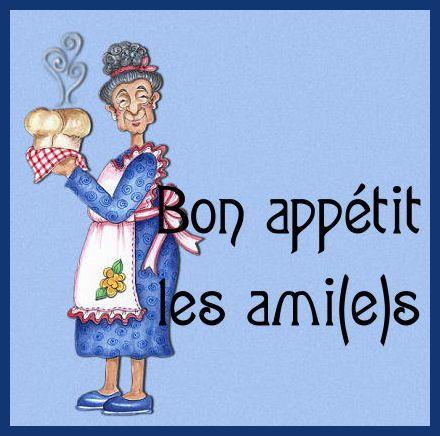 Bon appétit, a table!!